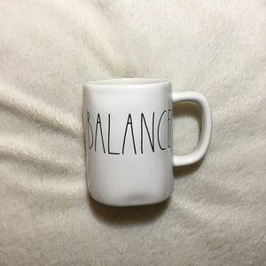 Rae Dunn BALANCE Ceramic Mug NWT New